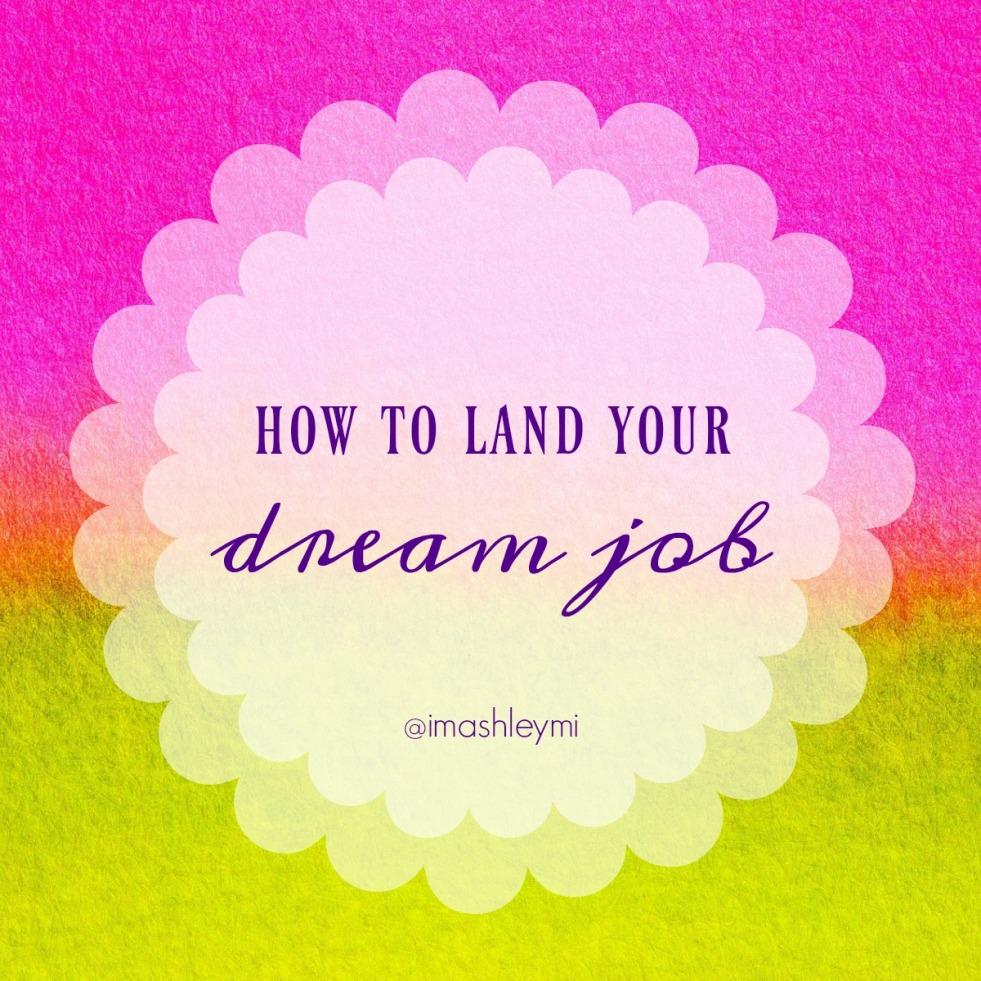 land-your-dream-job
